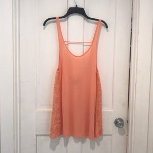L salmon Empyre tank top